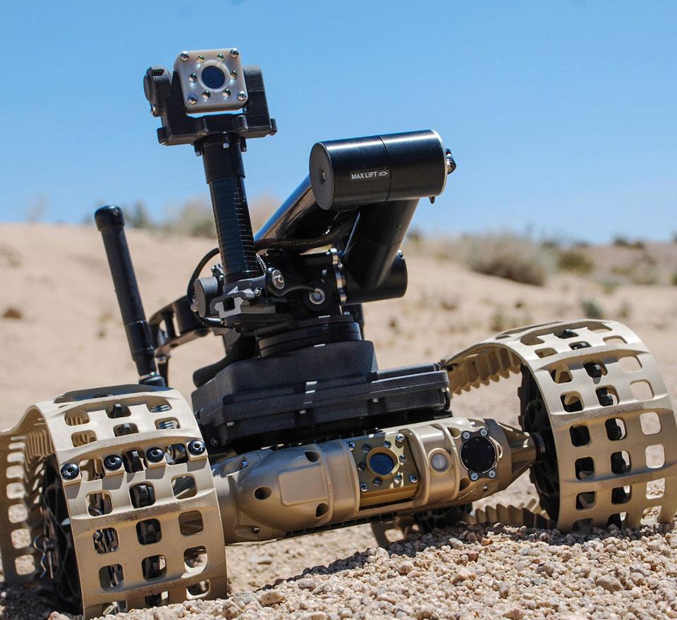 Robotické systémy QinetiQ